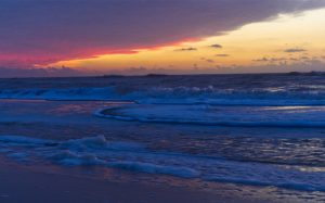 Sonnenuntergang Westkueste Sylt